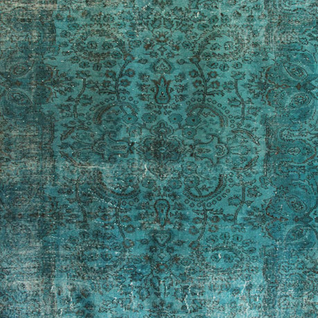 Vintage overdyed rugs k64m6g