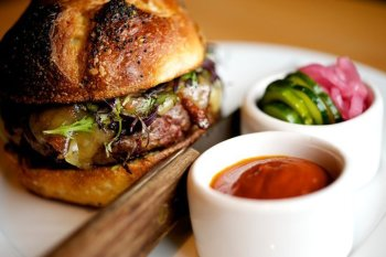 Gruner portland burger