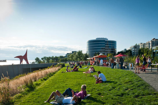 Brazilian Beats and Food Trucks at Olympic Sculpture Park | Seattle Met