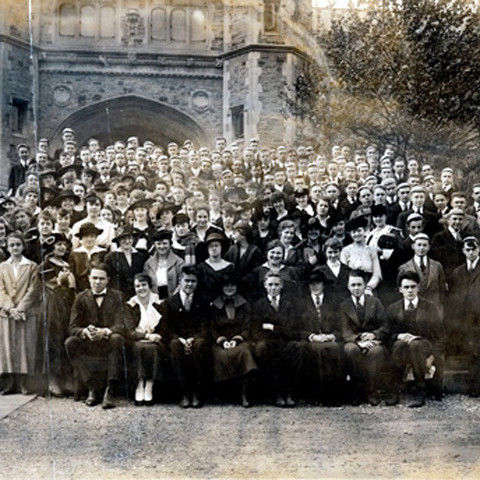 Commencement freshman class of 1916 171 mmmqgm