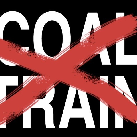 Coal train yard sign art wyg0zl
