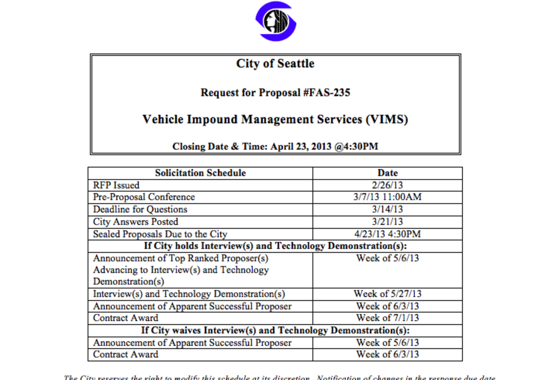 Afternoon Jolt City Council Calls For Audit Of Towing Contract Seattle Met