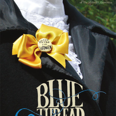 Blue thread cover orntvu