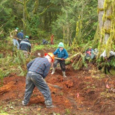 Evans creek building trail ztmwqk