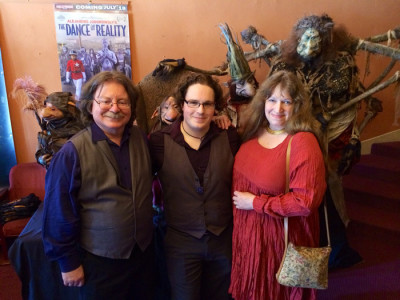 Brian, Toby, and Wendy Froud