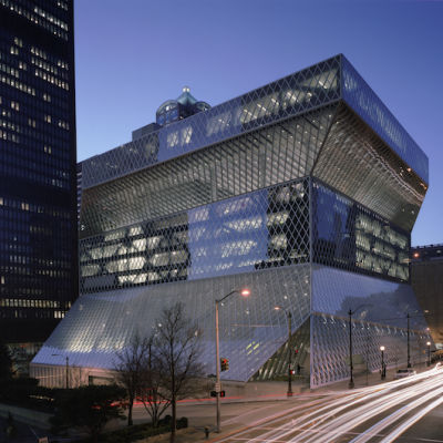 Seattle central library q7kqng