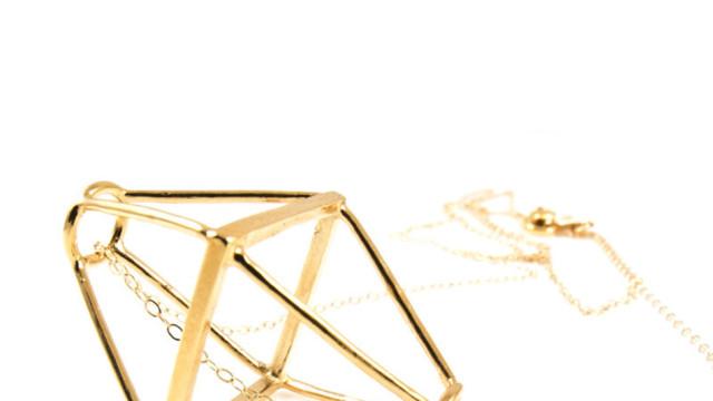 1. geometric cage necklace    48   baleen mstkdm