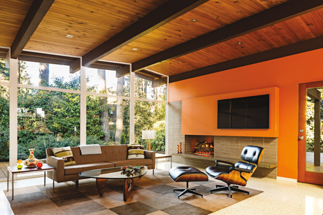 A period perfect midcentury renovation portland monthly for Modern homes jobs