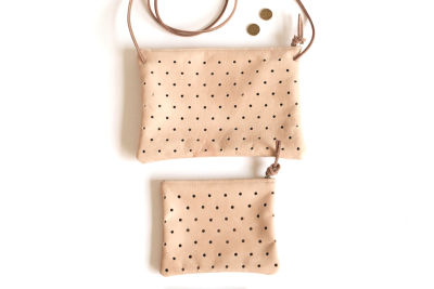 Pine and boon   convertible dot clutch nibaow