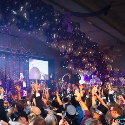 Hilton champagne ball mlvsdv