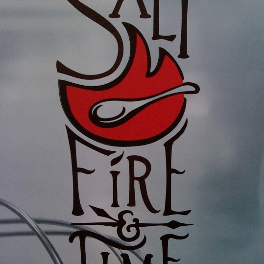 Salt  fire  time iiefwn