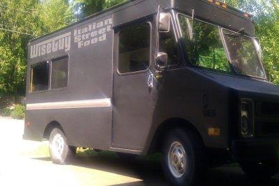 Wiseguy italian street food food truck snsxqx