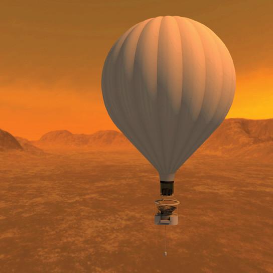 Hot air balloon tds8as