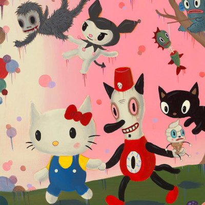 Gary baseman hello kitty t8omnx