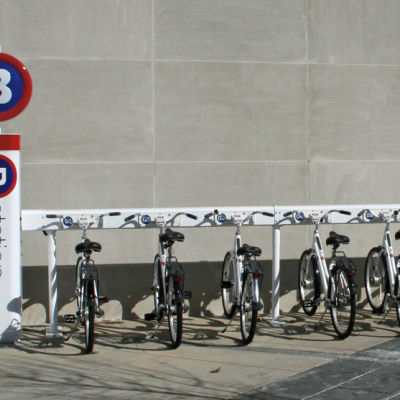 Bike rental station lbzjku