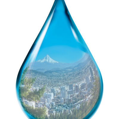 Water droplet lynb6r