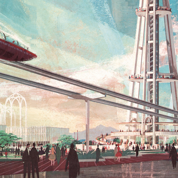 Future seattle illustration ghbktl