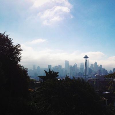Seattle skyline lxsvw0