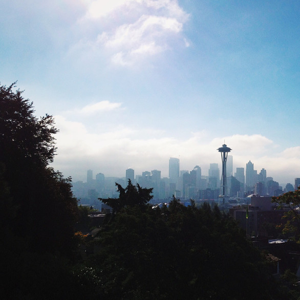 Seattle skyline lxsvw0
