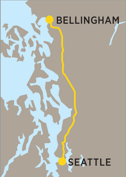 Bellingham illustrated map iax6or