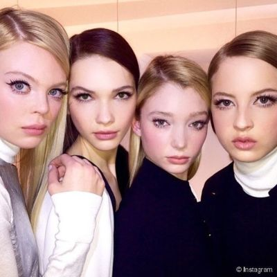 Ny fashion week   rachel zoe   60s doe eyes zojguu
