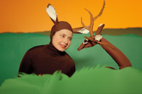Isabella Rossellini as a Deer