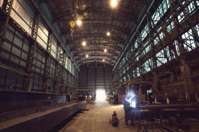 Factory wide shot ckqr69