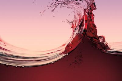 Red wine splash oquxtk