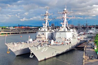 Us navy ship for fleet week vmxkfi