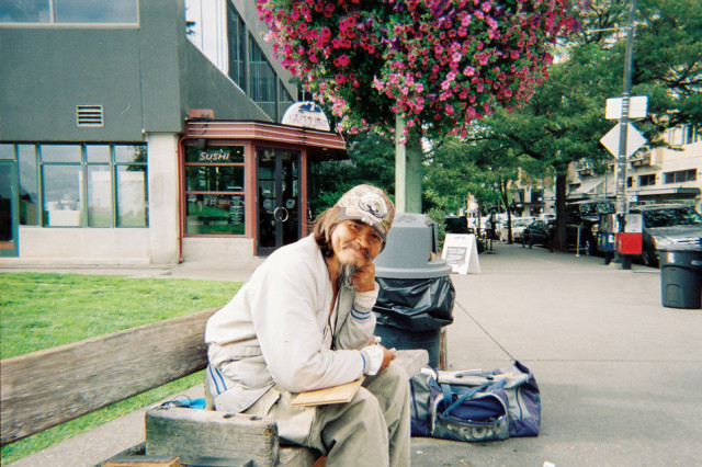 John on a bench aug 30 ylb991