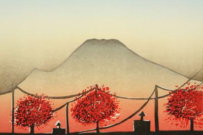 Kristina hagman georgetown autumn woodcut uqhhg8