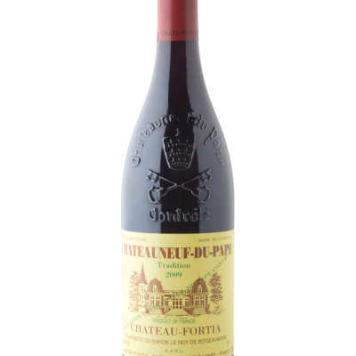 Chateauneuf wine bottle bvc5tk