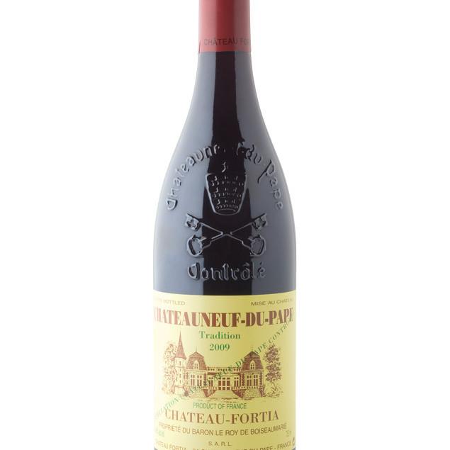 Chateauneuf wine bottle bvc5tk
