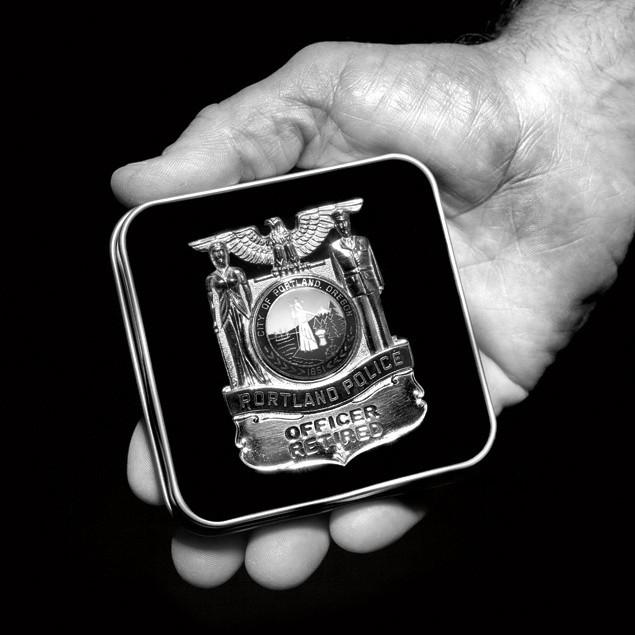 Henry groepper portland police badge mac3vu