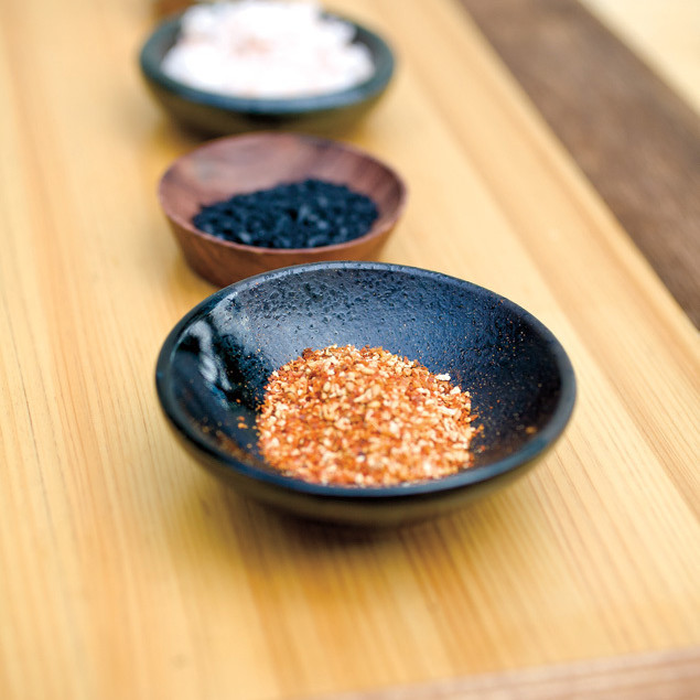 Yakitori prep ingredients kmutui