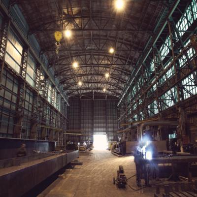 Factory wide shot ckqr69