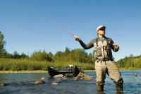 casting fisherman