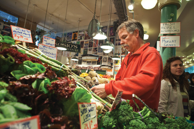 Mike Osborn of Sosio at Pike Place Market