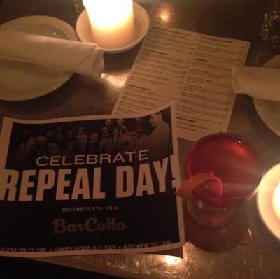 Bar cotto repeal day e9mqtv