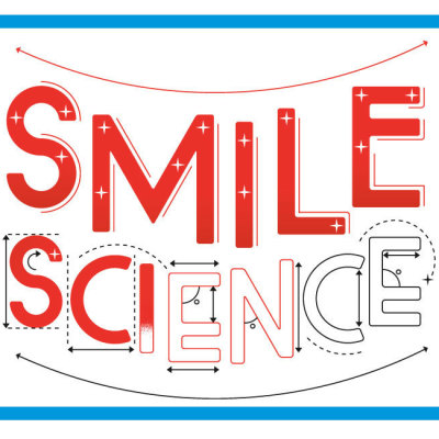 Smile science text graphic upvjqp