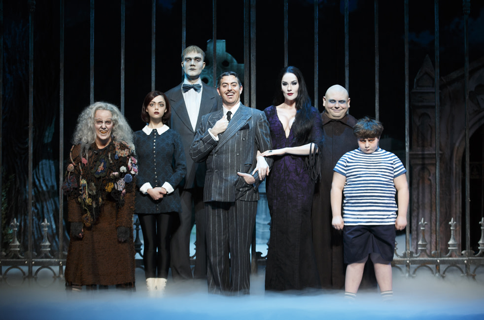 review: 'the addams family: a new musical comedy' | portland monthly