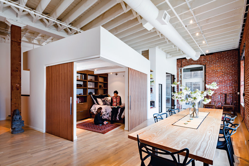 Reimagining modern loft living portland monthly for Create modern home decor kansas city