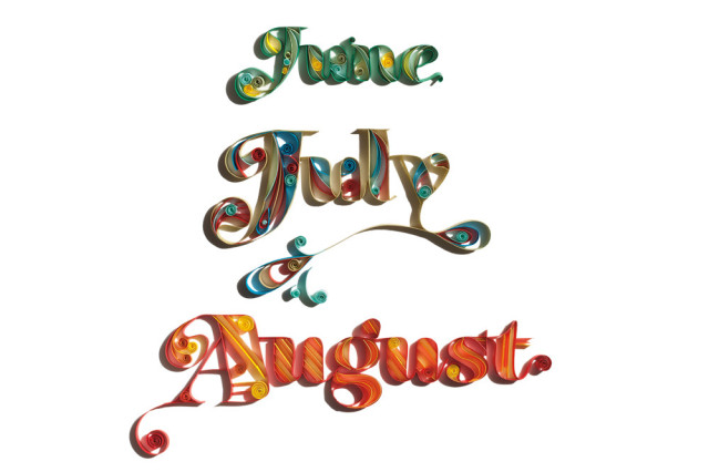 0613 summer months calendar zjgpjs
