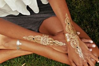 Thumbnail for - Jewelry Goes Skin Deep with Flash Tattoos