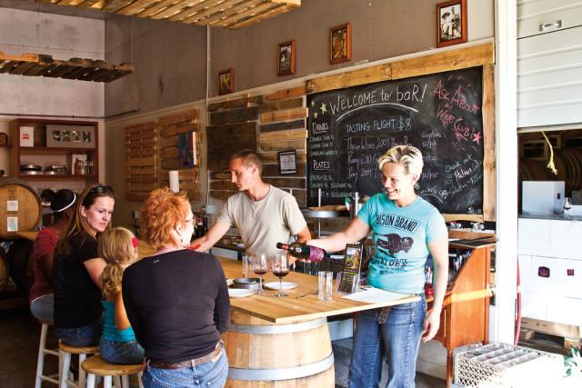 Remy Wines' tasting room