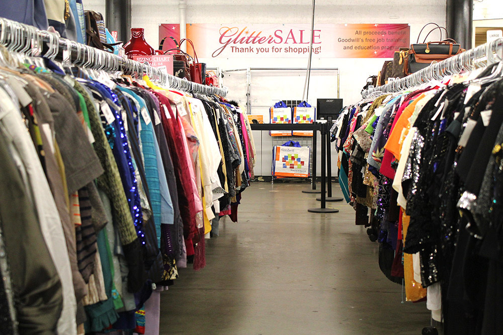 goodwill s 32nd annual glitter sale is november 14 and 15 seattle met