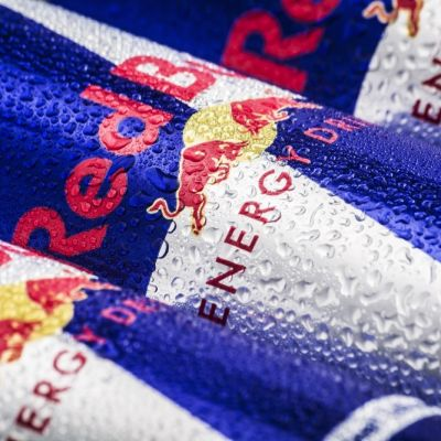 Red bull cans twin design x0dsfy