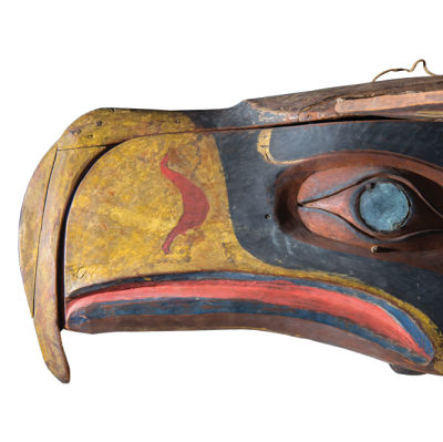 Seahawks mask courtesy the hudson museum aaejto