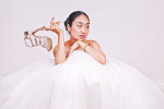 Thumbnail for - Sunjin Lee Constructs Modern Bridal Inspiration