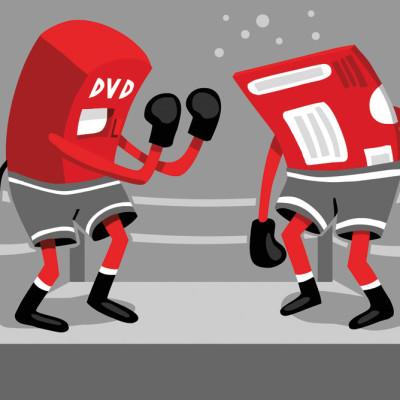 Red box netflix illustration uhlxrf